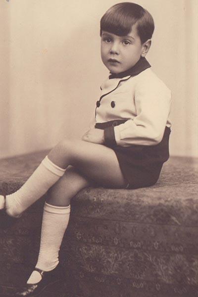Jean Kahn enfant