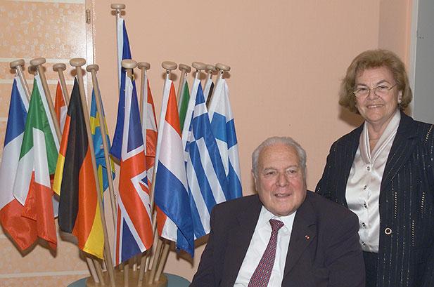 Jean et Nicole Kahn, Vienne 2003